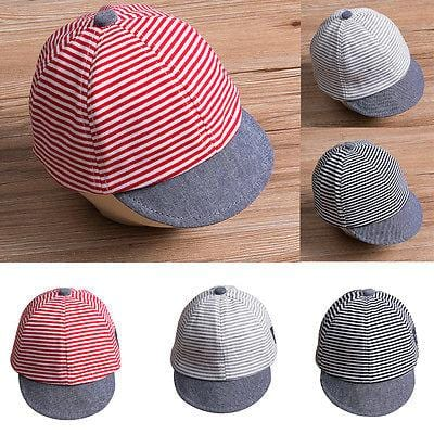 Striped Sun Cap