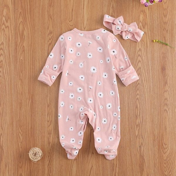 Pastel Flower 2 pc Bodysuits