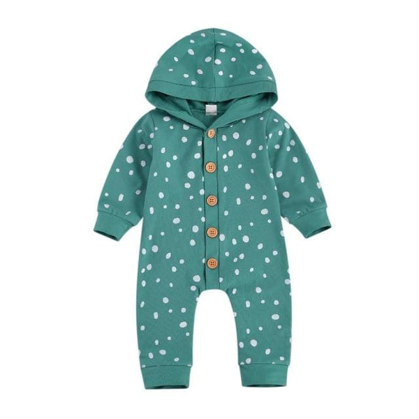 Speckled Hooded Bodysuit
