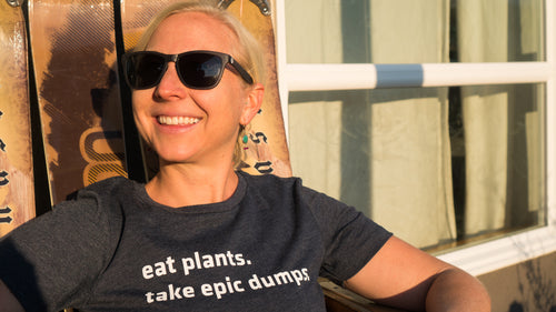 Take Epic Dumps Tee — Women's