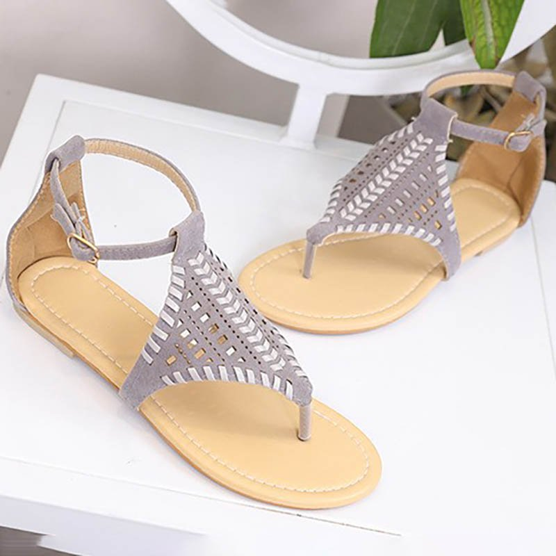 Flat Heel Hollow-Out Holiday Summer Shoes