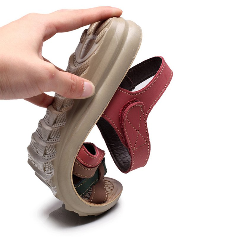Women's Flat Heel Magic Tape Casual Shoes