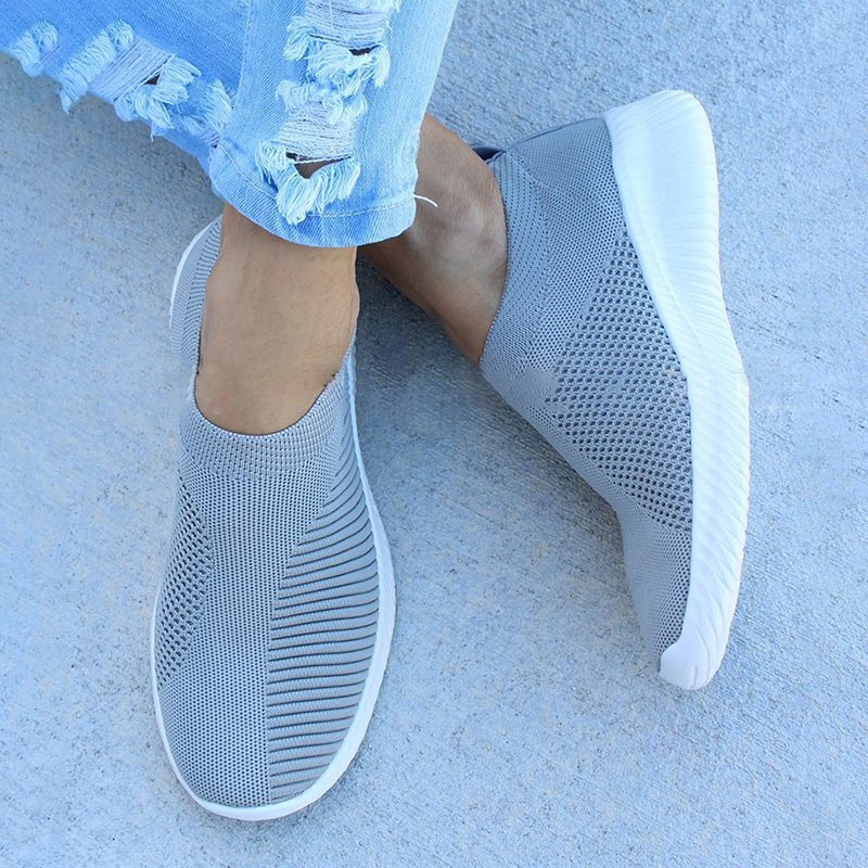 Breathable Casual Elastic Cloth Sneakers