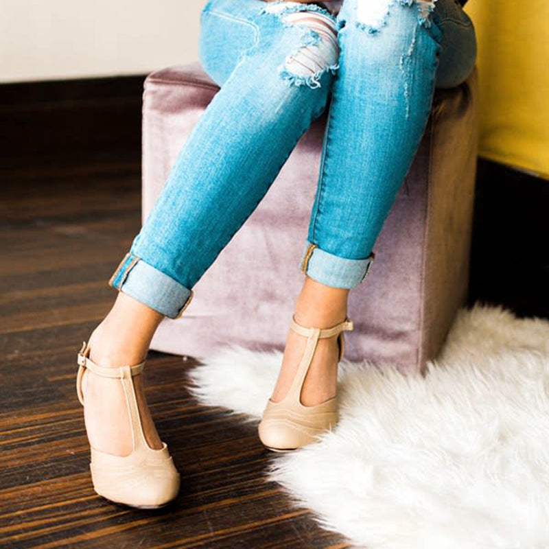 New Fashion Summer Buckle Stiletto Heel Sandals