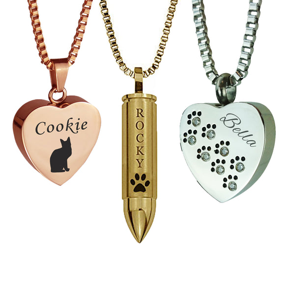 Pet Ashes Jewellery