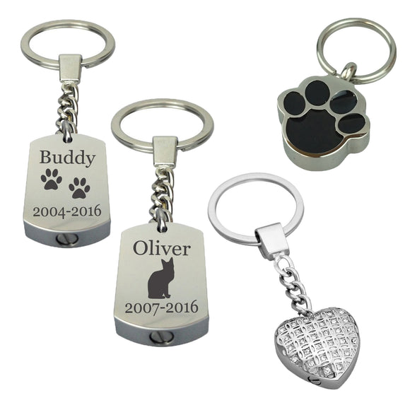 Pet Urn Keyrings