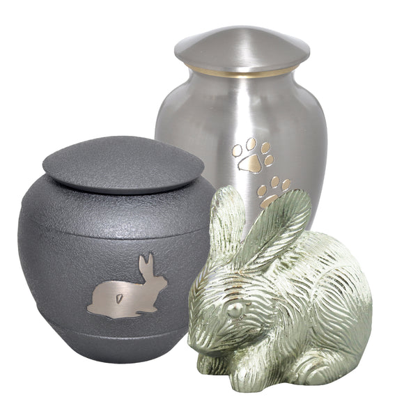 Rabbit and Guinea Pig Urns
