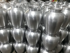 Unfinished Urns in Factory