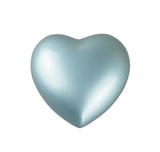 Classic Heart Keepsake Urn in Gold, Silver, Blue or Purple Personalisation Available - ETH14