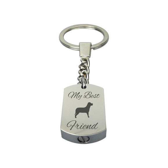 Best Friend Dog Urn Keyring - ETK07