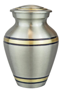 Miniature Silver and Gold Keepsake Urn - ETM03