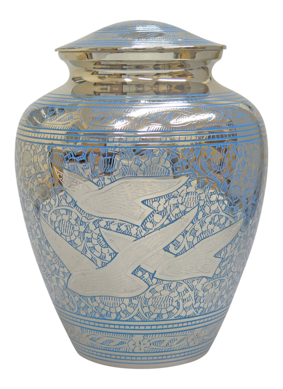 Large Flying Birds Urn - ETL01
