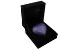 Royal Purple Enamel Heart Keepsake Urn - ETH27