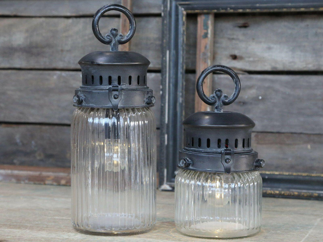 French Stable Lantern im Factory Stil (Groß)