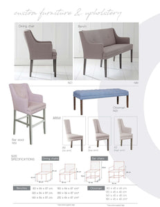 Flexi Collection: Chairs, Benches & Ottomans