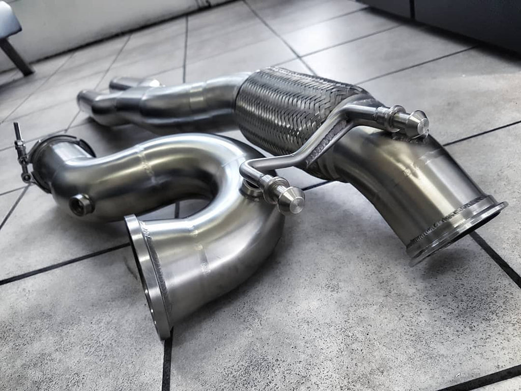 Rogue Performance Downpipe - AUDI RS3 8V/TTRS 8S Pre-facelift without OBD  fault delete dongle