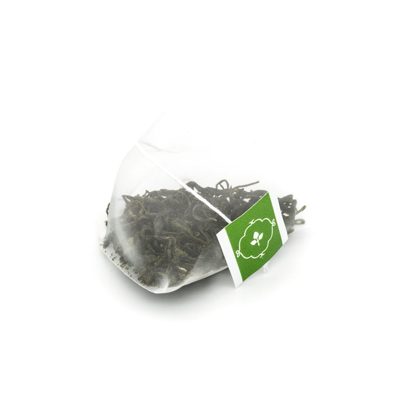 Jade Mist - Green Tea - Pyramid Tea Bags Tin