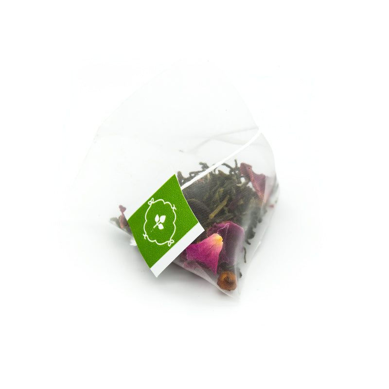 Rose Moscato - Green Tea - Pyramid Infusers Foil Pouch Pair, 50pc