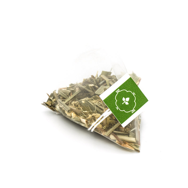 Lemon Ginger - Herbal - Pyramid Tea Bags Ziplock Pouch
