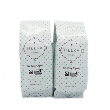 Tielka Breakfast - Black Tea - Pyramid Tea Bags Foil Pouch Pair, 50pc