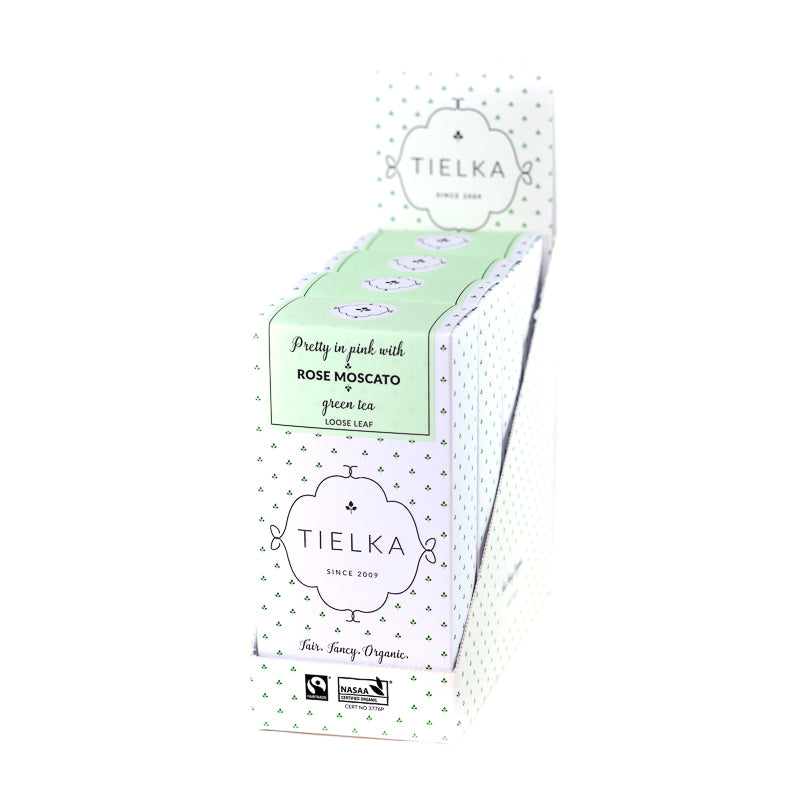 Rose Moscato - Green Tea - Loose Leaf Boxes