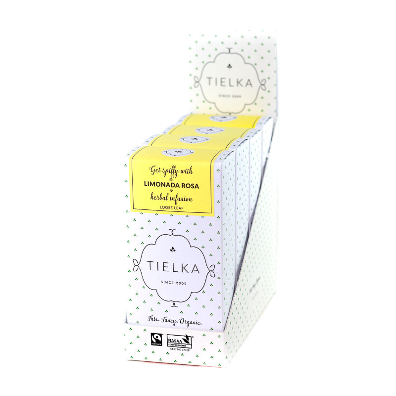 Limonada Rosa - Herbal - Loose Leaf Boxes