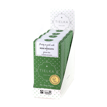 Rose Moscato - Green Tea - Pyramid Infusers Boxes