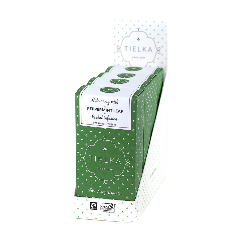 Peppermint Leaf - Herbal - Pyramid Infusers Boxes
