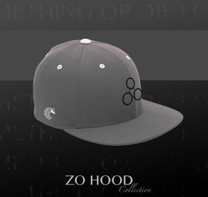 ZH Flat Brim - Grey Black