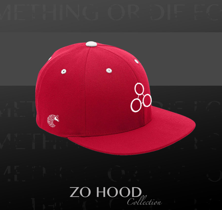 ZH Flat Brim - Red White