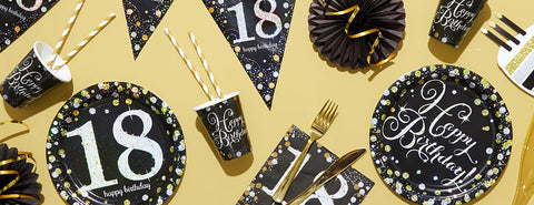 Sparkling Celebration 18th Party Supplies