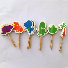 Load image into Gallery viewer, Cartoon Dinosaur Theme Party Decorations For Kids Birthday Party Favors Baby Shower Festive Party Supplies