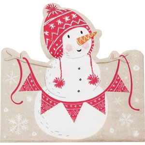 Santa and Friends Paper Napkins - 33cm