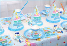 Load image into Gallery viewer, Kids My First Birthday Theme Birthday Party Supplies Tableware Decor Best Gift