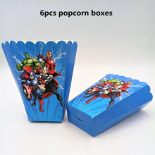 Load image into Gallery viewer, The Avengers Superhero Theme Party Decorations For Kids Birthday Festive Event Party Supplies