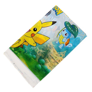 Party Decorative Paper Suitable For 20 People 61pcs Pikachu Pokemon Go Kids Birthday