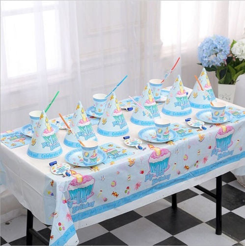 Kids My First Birthday Theme Birthday Party Supplies Tableware Decor Best Gift