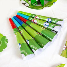 Load image into Gallery viewer, Football Soccer Theme Party Tableware Set Birthday Party Disposable Tableware Supplies Gifts for Boy Party Decor Favor