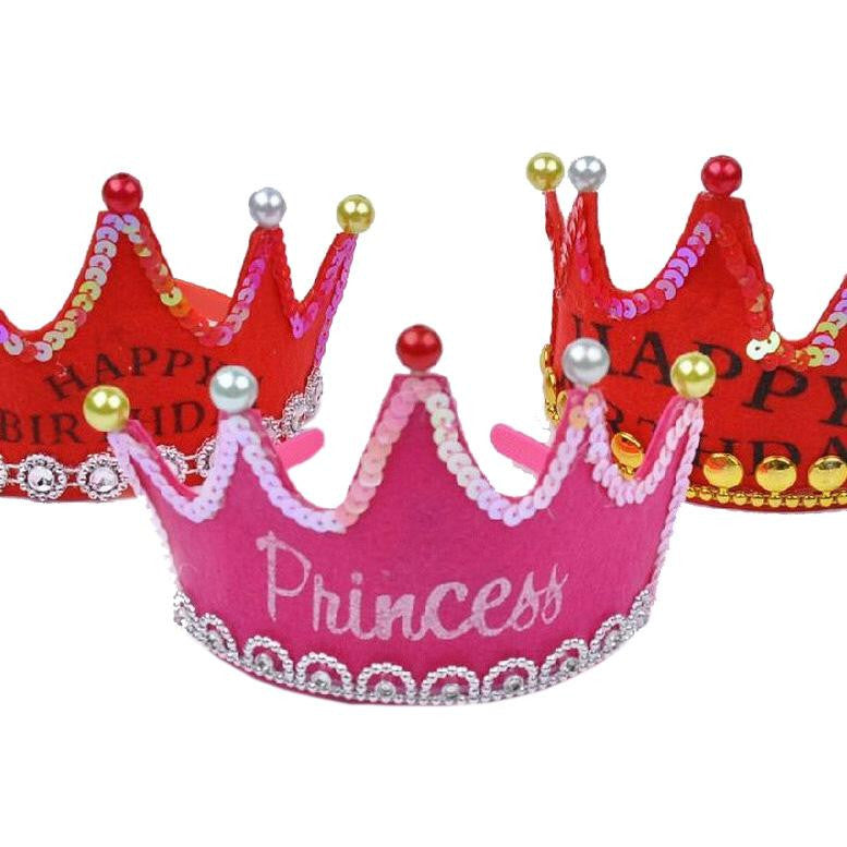 Birthday Party Hats Crown Prince And Princess Birthday Party Hat For Children