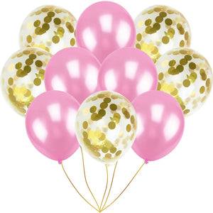 Transparent Balloon with Confetti sets, wedding room and birthday party decorations