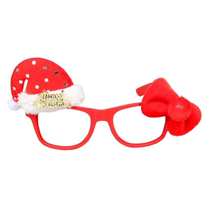 Adorable Decorative Girl's Christmas Party Glasses