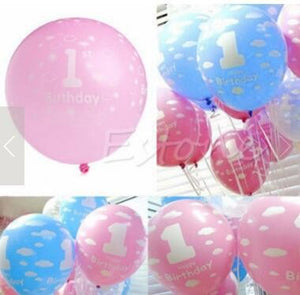 20pcs Birthday parties balloons party family decorations