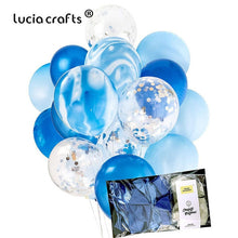 "Load image into Gallery viewer, 20PCS 12"" Multi Colorful Confetti Air Balloons DIY Birthday Wedding Christmas Party Decorations Festival Supplies 059003033"