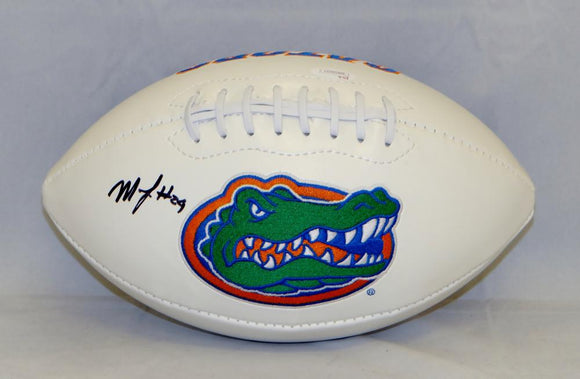 Matt Jones Autographed Florida Gators Logo Football- JSA Witnessed Auth