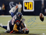 Brian Cushing Autographed Texans 16x20 Against Tampa Photo- JSA W Authenticated