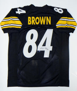 Antonio Brown Autographed Black Pro Style Jersey- JSA W Authenticated