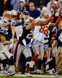 Mario Manningham Autographed Giants 16x20 Super Bowl Catch Photo- JSA Auth