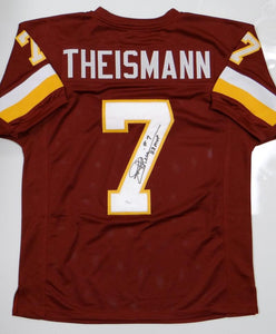 Joe Theismann Autographed Maroon Pro Style Jersey W/ MVP- JSA W Authenticated
