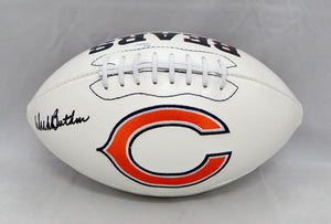 Dick Butkus Autographed Chicago Bears Logo Football- JSA Witnessed Authenticated