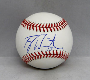 Tyler White Autographed Rawlings OML Baseball- JSA Witnessed Auth